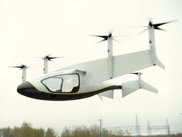 Farnborough Airshow: Rolls-Royce to solve commuting problems with hybrid flying taxi