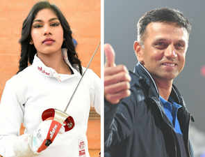 Rahul Dravid was very patient, gave us inputs: Fencer Bhavani Devi fondly recalls chat with cricketer