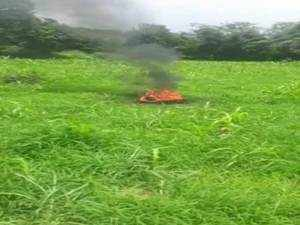 IAF's MiG-21 fighter jet crashes in Himachal's Kangra