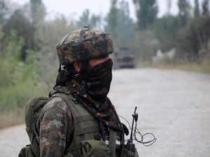 Encounter underway between security forces and terrorists in J&K