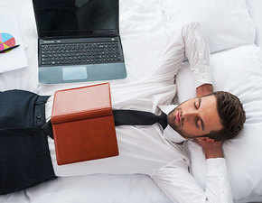Snooze tales! A higher salary, productivity at work helps people sleep better