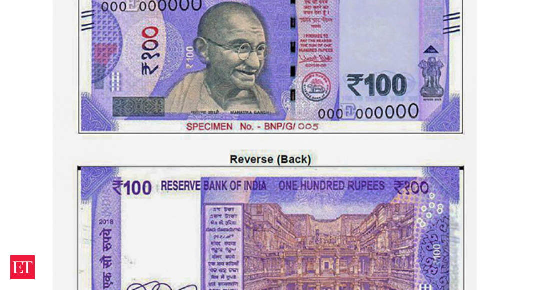 Rbi To Issue New Rs 100 Currency Note Shortly This Is How It Looks