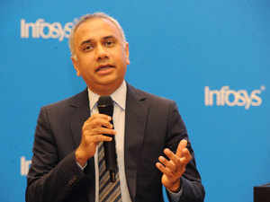 Infosys   Salil Parekh: Infosys CEO Salil Parekh handed