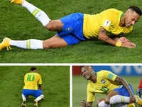 Revenge mode: When Neymar took a jibe at critics by teaching kids to fall and roll