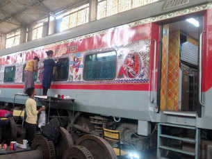Indian Railways to get an arty makeover - starting with Patna Rajdhani