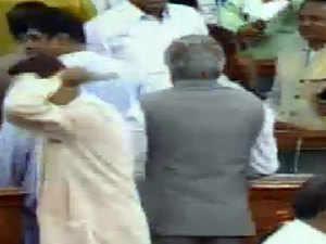 No Confidence motion: Biju Janata Dal walks out of debate