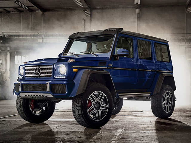 The revamped Mercedes-Benz G-Wagen is off-road luxury at $130,000