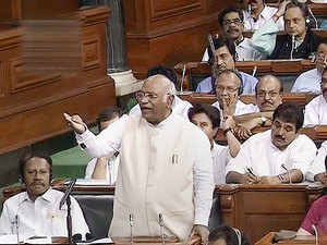 No-confidence motion: Speaker unfair in allotting time to opposition, says Kharge