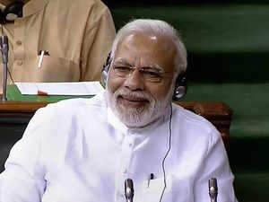 PM Modi responds to no-confidence motion in Lok Sabha