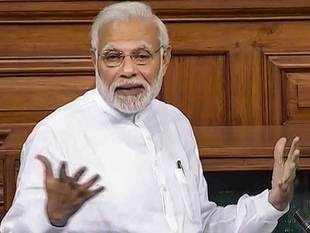 NPA mess a landmine for Indian banks: PM Modi in LS