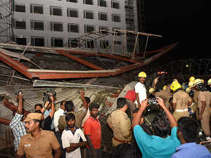 Chennai building collapse: 1 person dead, several others injured