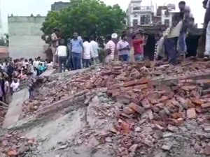 Ghaziabad: Five-storey building collapses, 5 feared trapped