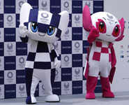 Tokyo Olympics official mascots unveiled
