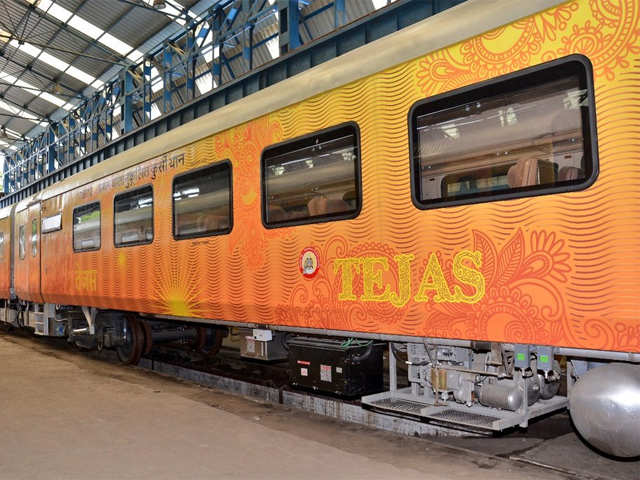 New 19-coach rake of Tejas Express - Indian Railways to launch
