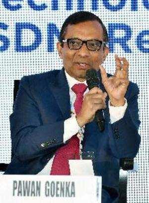 Mumbai: MD Mahindra & Mahindra Ltd Pawan Goenka speaks at Magnetic Maharashtra C...