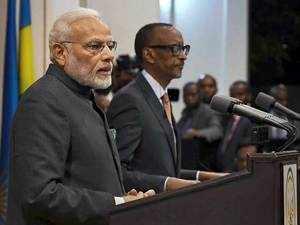 India, Rwanda sign 8 MoUs during PM Narendra Modi's visit