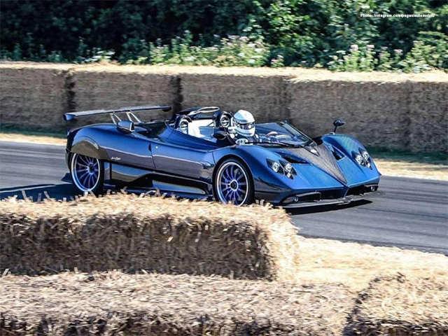 Pagani Zonda Hp Barchetta Here S The Real Hypercar Rs 122 Crore