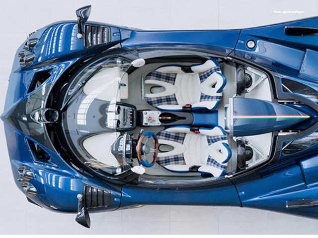 Mercedes-AMG M120 V12 engine - Pagani Zonda HP Barchetta