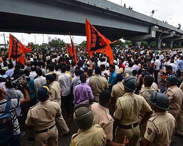 Mumbai bandh called off midway by Maratha Kranti Morcha after violence