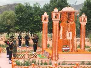 Kargil Vijay Diwas: Wreath laying ceremony at Dras War Memorial