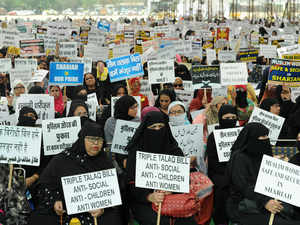 triple talaq protest bccl