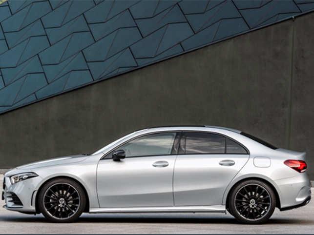 Mercedes Benz 2019 A Class Mercedes Benz Unveils A Class Sedan To