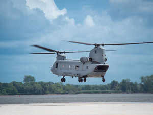 Boeing's Apache and Chinook choppers for India complete inaugural flights