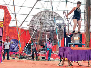 In The Charmed Circle Of The Circus The Economic Times