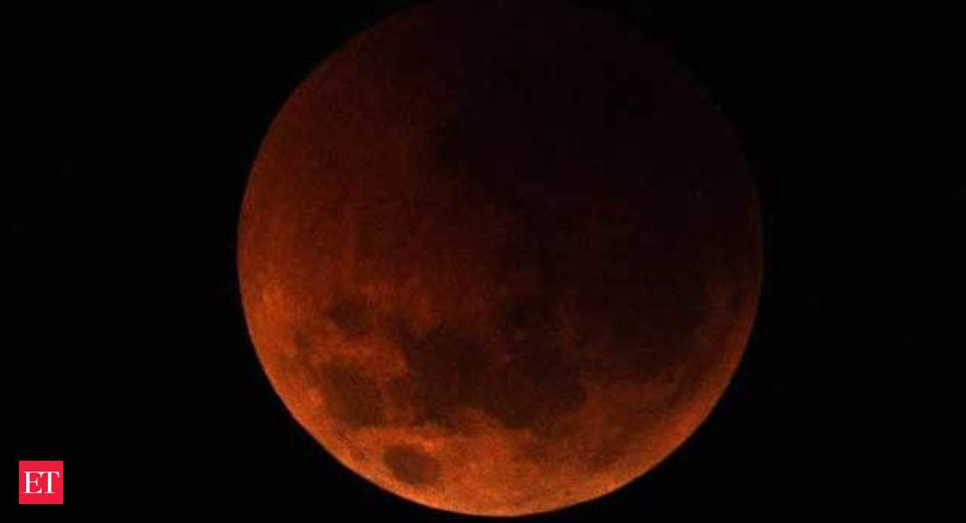 Watch India witnesses longest ever blood moon eclipse The