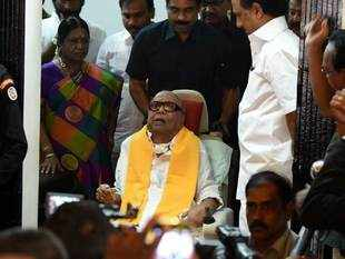 DMK chief's blood pressure stable, being monitored: Kauvery Hospital