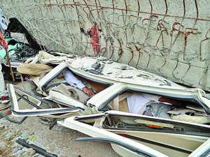 Seven engineers, contractor arrested in Varanasi flyover collapse case