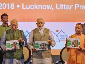 Lucknow: PM Modi launches various urban infra projects