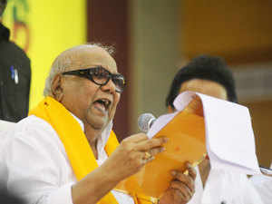 DMK leader M Karunanidhi 'stable', says hospital