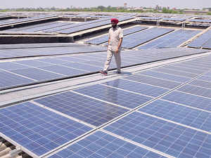 Solar power firms