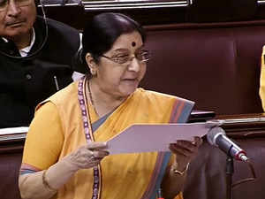 "Doklam resolved through ""diplomatic maturity without losing any ground"" says Swaraj"