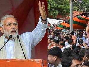 Tent collapse at Modi's Midnapore rally: Probe team blames West Bengal govt
