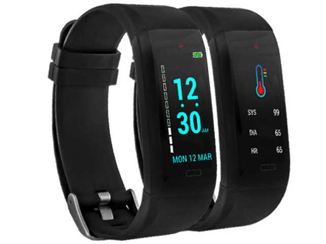 Goqii Vital offers heart rate as well as blood pressure tracking.