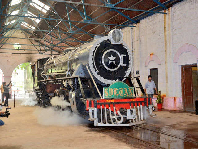 Old steam engines come back on the tracks after decades of