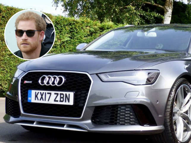 Prince Harry's 2017 Audi RS6 Avant up for sale