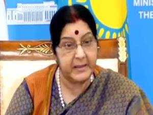 Projects by PM Modi in India can be useful for digital development in Kazakhstan: Sushma Swaraj