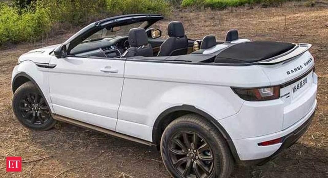 Autocar Show Range Rover Evoque Convertible First Drive The Economic Times Video Et Now