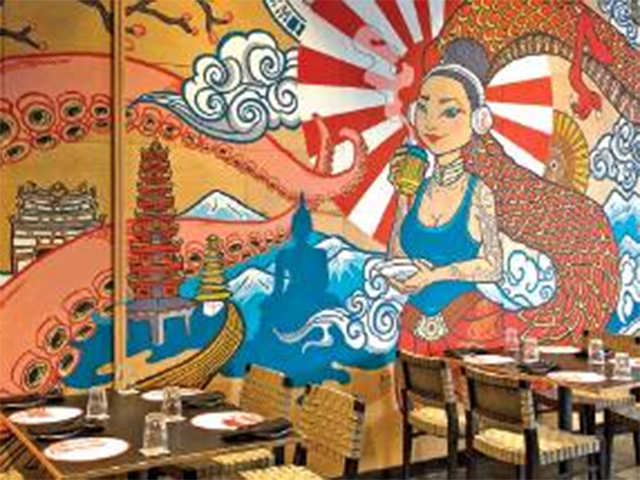 Colour me happy! Bengaluru restaurant walls are becoming canvases for local artists