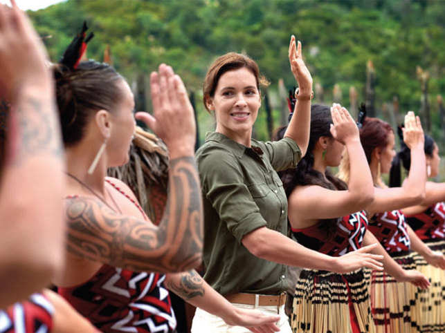 LETS DANCE: Haka, a war dance, is an essential part of a cultural tour. Make sure to join in with the locals and learn a few steps