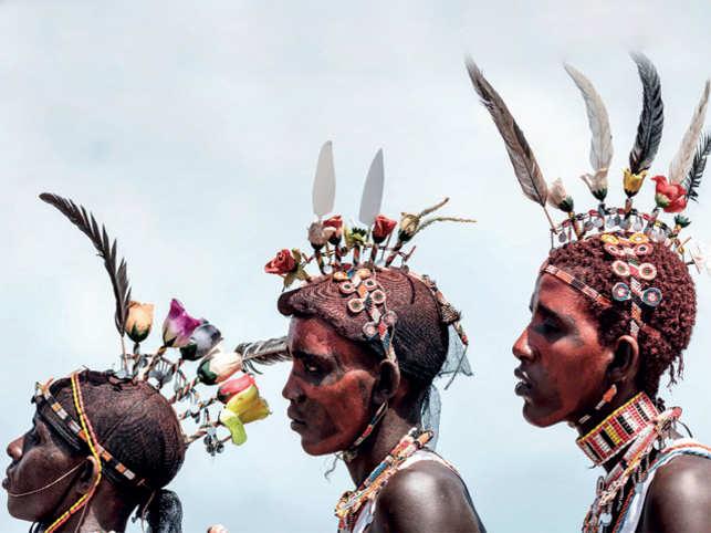UNIQUE: Samburu are a sub tribe of the Maasai