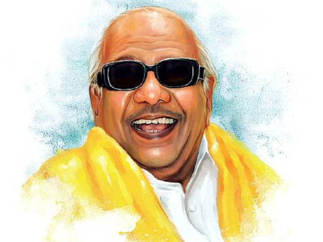How Karunanidhi helped fashion today's India