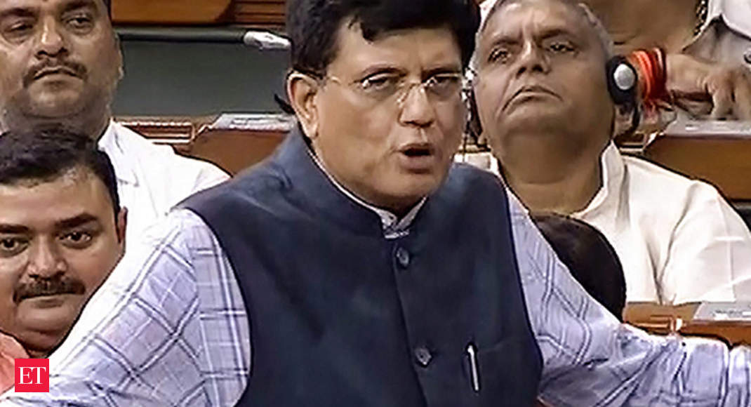 Watch: FM Piyush Goyal speaks on GST amendments in Lok Sabha
