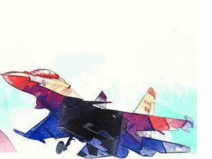 Fighter plane's tyre burst at Jodhpur airport