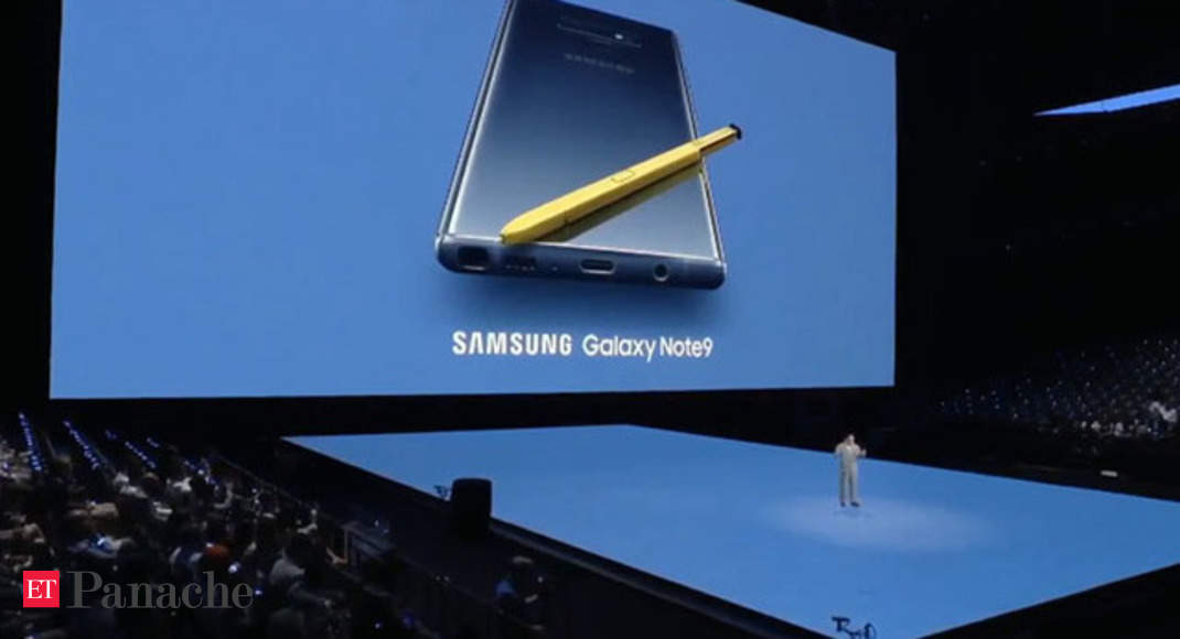Samsung Galaxy Note 9 Launched At Mega NYC Event