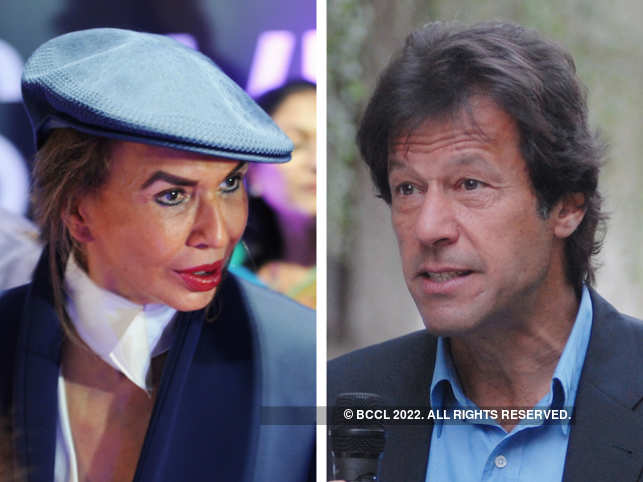 Parmeshwar Godrej and Imran Khan