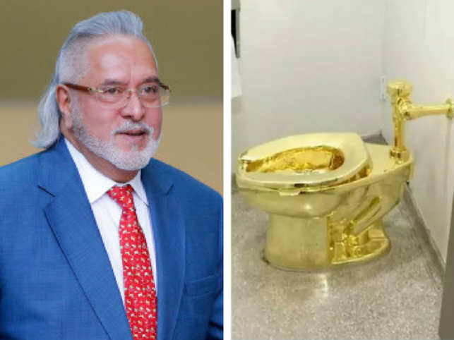 Flush with funds: Vijay Mallya's London manor has a gold toilet, reveals author James Crabtree